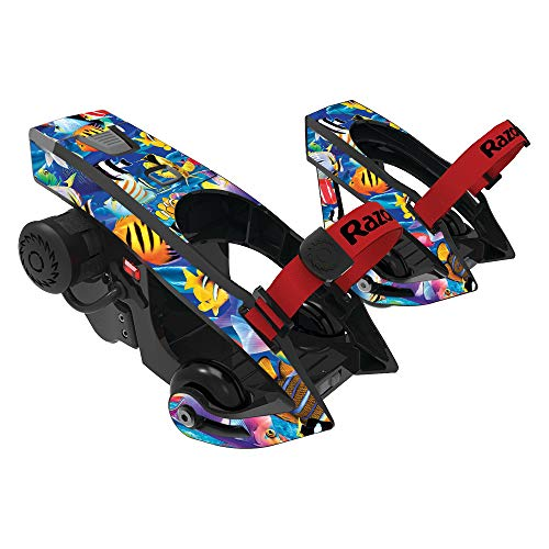MightySkins Skin Compatible with Razor Turbo Jetts Electric Heel Wheels - Tropical Fish | Protective, Durable, and Unique Vinyl wrap Cover | Easy to Apply, Remove, and Change Styles | Made in The USA ()