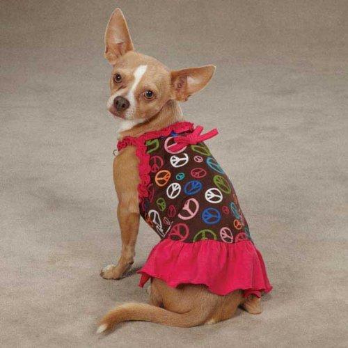 Buddies Cat Face Pet (ESC Peace Out Dress S/M Raspberry)