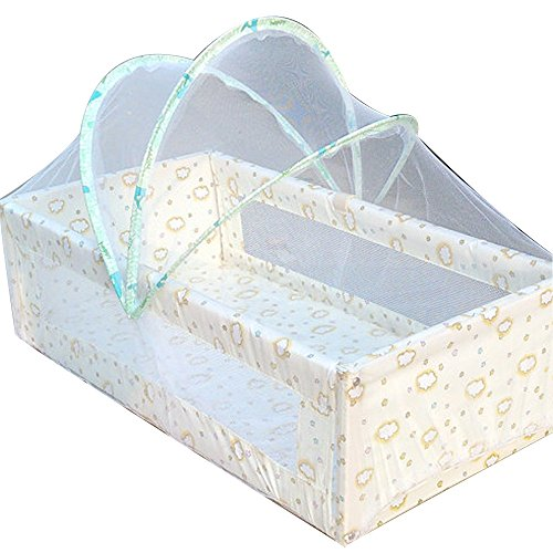 AIUSD Clearance , Universal Baby Cradle Bed Mosquito Nets Summer Baby Safe Arched Mosquitos Net ()