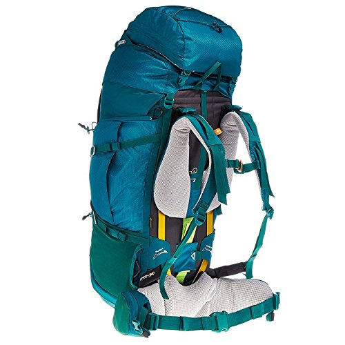 Acceso Decathlon Quechua SYMBIUM 70 + 10L Mochila de Senderismo para Mujer, Color Azul: Amazon.es: Zapatos y complementos