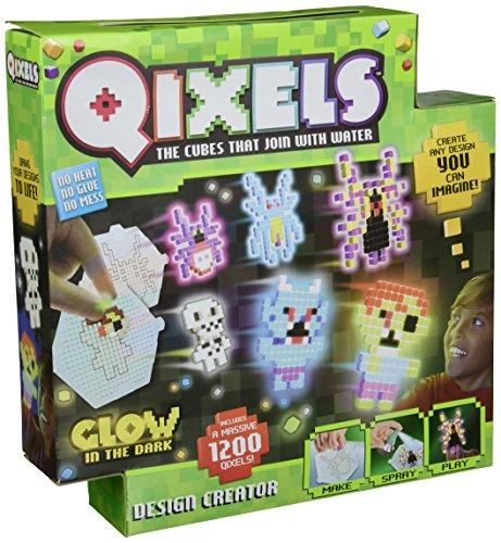 Qixels Glow-in-The Dark Design Creator Toy (Qixels Glow In The Dark Design Creator)