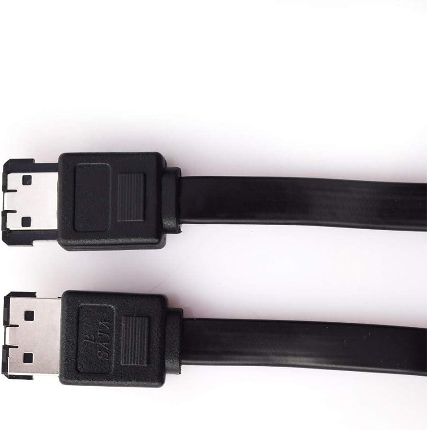 Cable Length: 60CM ShineBear 3FT eSATA to eSATA 7-Pin Shielded External Cable Cord OZ 70cm