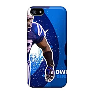 Durable Defender Cases For Iphone 5/5s Tpu Covers(indianapolis Colts) Black Friday