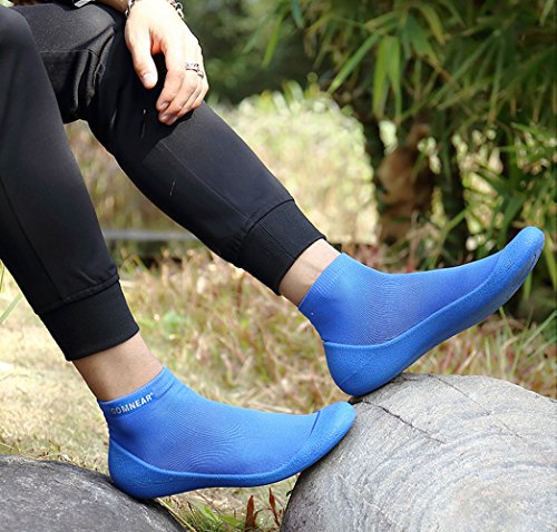 Shoes Women Lightweight Blue Men Black Athletic Ankle Sports GOMNEAR Casual Shoes Running for Outdoor Breathable Socks and Sneaker Hz0UTF