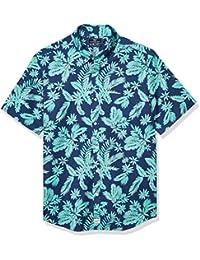 Men's Slim Fit Gilded Short-Sleeve Murray Shirt