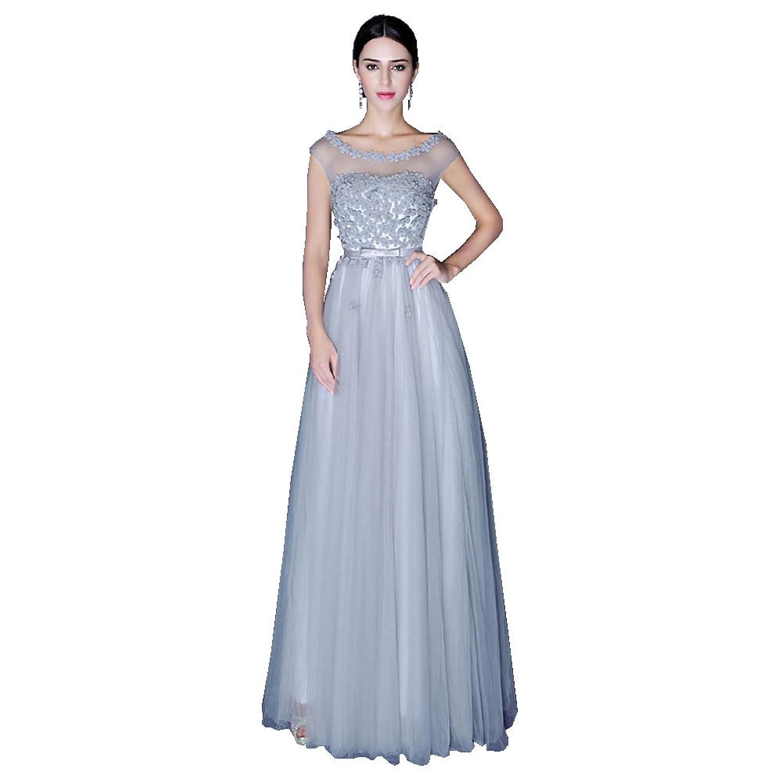 Damen Ballkleid Lang Tüll Hochzeitskleid jetzt bestellen