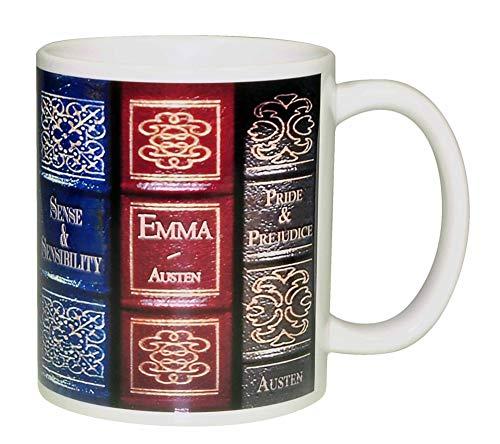 Jane Austen Novel Books Coffee or Tea Mug - http://coolthings.us