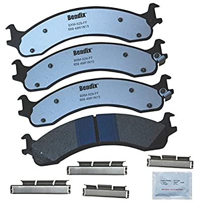 Bendix Fleet Metlok MKD859FM Brake Pad