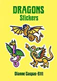 img - for Dragons Stickers (Dover Stickers) book / textbook / text book