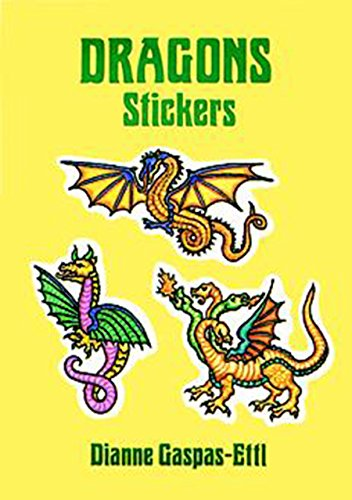 Dragons Stickers (Dover Stickers)