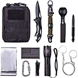 WORSPODAY Survival Gear Kit, Tactical Gear for Men