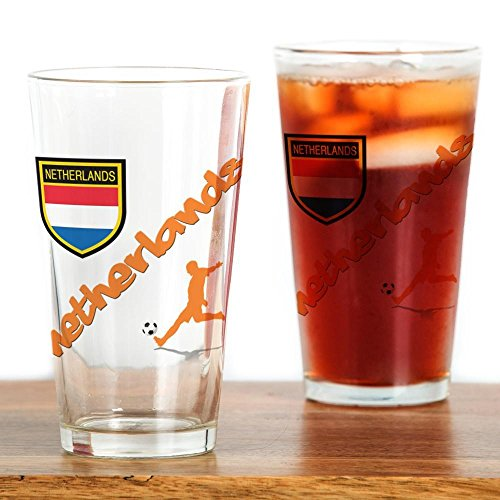 Soccer Pint Glass - CafePress NETHERLANDS SOCCER Pint Glass Pint Glass, 16 oz. Drinking Glass