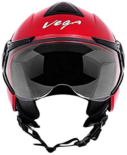 Vega Verve Open Face Helmet Women S Red M Amazon In Car