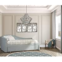 Hillsdale Olivia Daybed with Trundle in Gray