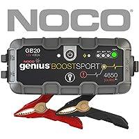 Noco Genius Boost Sport GB20 400 Amp 12V UltraSafe Lithium Jump Starter (Gray)