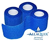 Best Ace Adhesive Bandages - AllaQuix Self-Adherent Pressure Wrap - 3-Pack - Flexible Review