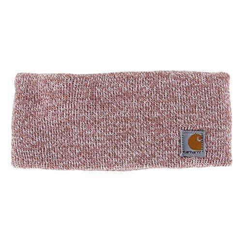 Fleece Headband (Carhartt Women's Acrylic Headband, Burl Wood Marl, One Size)