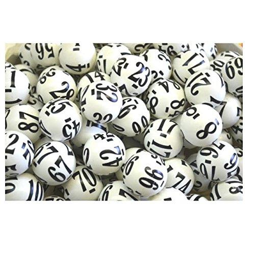 500 Raffle Balls Professionally Numbered 1-500