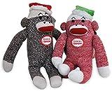 Multipet 784369177367 Holiday Sock Monkey