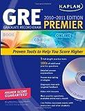 Kaplan GRE Exam 2010-11: Premier + CDROM (Kaplan GRE Premier Program (W/CD))
