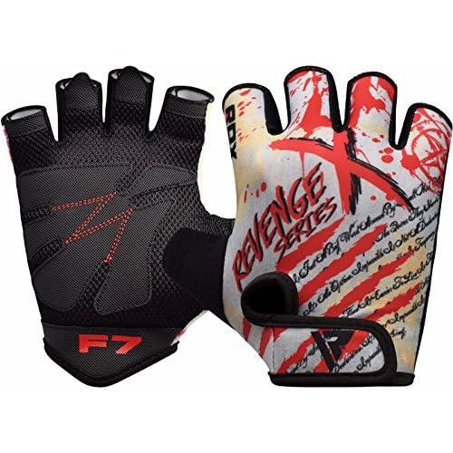 RDX Gants de Musculation Poignet Gymnastique workout Fitness Crossfit Entrainement Vachette Powerlifter Perméable à l'air Halterophilie Gym Gloves