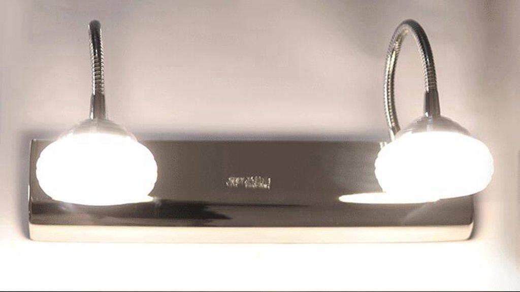 Miaoge Modern minimalistisch Spiegel vordere Lampe LED Nacht Schlauch Schlafzimmer Acryl Raumbeleuchtung Weiß 300mm 12W