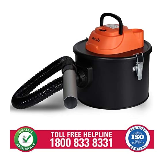 iBELL 0812WB 1200Watt 8 Litre Quick Clean Vacuum Cleaner with HEPA Filter. Compact, Powerful & Handy for Furniture/Curtains/Windows/Sofas/Cars, Black 4