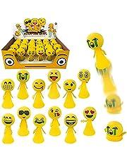 لعبة قاذفات بوبر سبرينغ من جامبنج ايموجي بوبر سبرينغ لوازم الحفلات (24 قطعة)