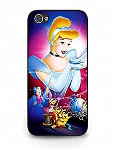 case for mobiephone's Shop Best 6949776M261575136 Iphone 5 Case, Animation Cinderella Photo Perfect Clear Case Cover for Iphone 5S