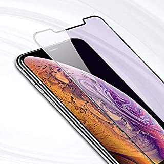PERFECTSIGHT HD Clear Anti Blue Light Filter Tempered Glass Screen Protector for iPhone 11 Pro 2019, iPhone Xs/X/ 10 5.8 inch 1 Pack - Anti Fingerprint, 2 Stronger, Alignment Frame Easy Installation