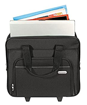 Targus Metro Rolling Case For 16-inch Laptop, Black (Tbr003us) 4