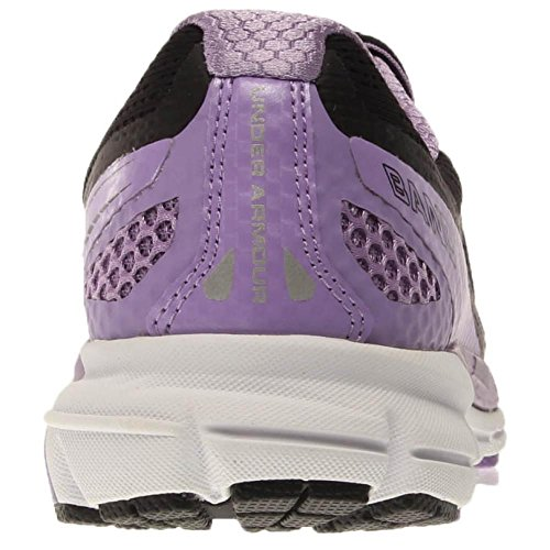 Under Armour - Zapatillas de running para mujer Blanco blanco Black/White/VIVID LILAC