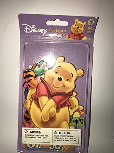 SandyLion Disney Pooh Chipboard Medley Pack