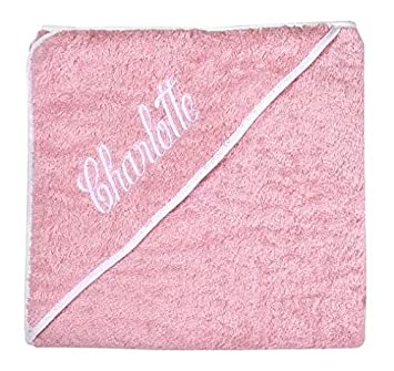 Amazon personalized baby gifts baby bath towels pink hooded personalized baby gifts baby bath towels pink hooded towels with your baby girl name negle Image collections