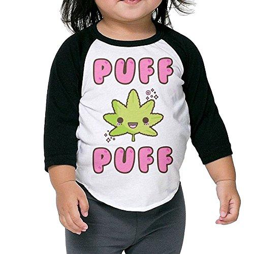 SH-rong Kawaii Puff Puff Marijuana Kids Essential Tshirt Size4 Toddler