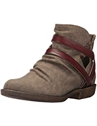 Blowfish Women's Astra Canvas Mid-Top Fabric Boot