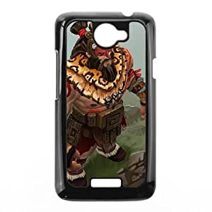 HTC One X Cell Phone Case Black Defense Of The Ancients Dota 2 BEASTMASTER 002 LQ7437907