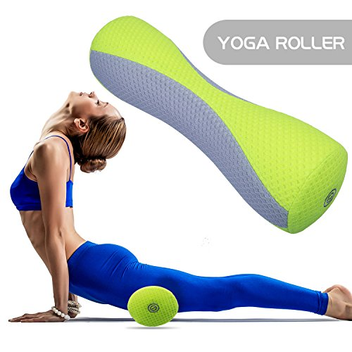 Foam Roller, Tomight Electric Muscle Massage Yoga Roller Ideal For Physical Therapy and Exercise Full Body Stiffness Relief W Vibration Massage Function