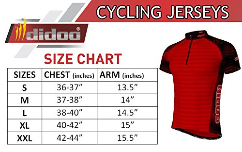 Didoo Summer Cycling Jerseys for men short sleeve Lightweight   Breathable  Quick Dry Tops MTB Mountain Bike Racing Half Sleeve Sublimation T-Shirt For  ... 0cc51013f