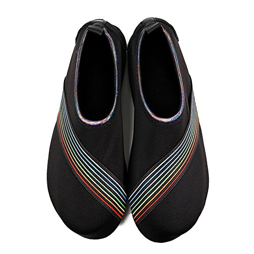 Socks Beach Quick Black Aqua Water On Dry Swim Shoes Surf Men Slip HMIYA for Bevel Yoga Barefoot Women S7Uwq