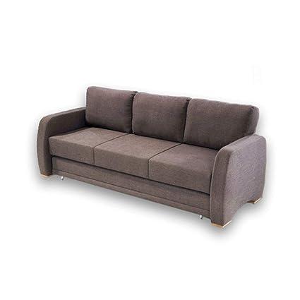 Amazoncom Double Sofa Bed Futon Pronto Trundle Storage Back Up