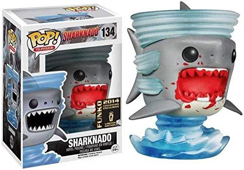 Vbnmda Pop! Sharknado - Figura de Vinilo Coleccionable de Sharknado (Salpicadura de Sangre) de la Serie de television