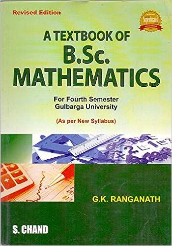 B.sc Math Book