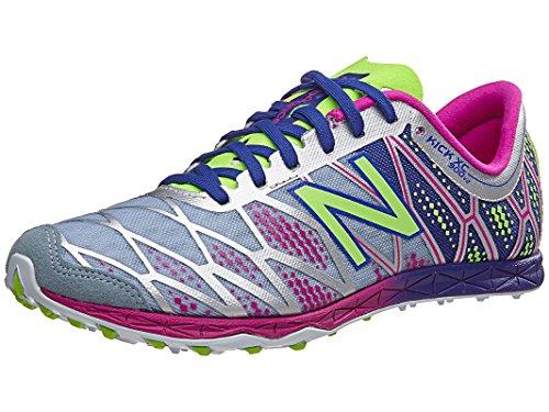 New Balance Women's WXC900 Spike Running Shoe, Grey/Purple, 7.5 B US