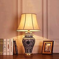 Ywyun Nueva lámpara de Mesa China de Porcelana Azul y Blanca ...