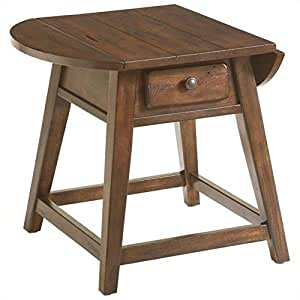 Amazon Com Broyhill Attic Heirlooms Splay Leg End Table