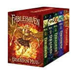 download ebook fablehaven complete set (boxed set): fablehaven; rise of the evening star; grip of the shadow plague; secrets of the dragon sanctuary; keys to the demon prison by mull, brandon (10/4/2011) pdf epub