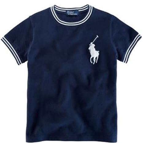 Ralph Lauren chaqueta para niño T-camiseta polo con caballo grande ...