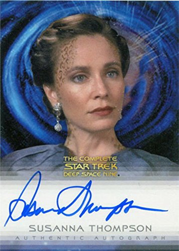 Star Trek DS9 Heroes & Villains Autograph Card Susanna Thompson as Lenara Kahn