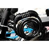 XZSUN Bike Lock Bicycle Lock Chain ,5-Digit